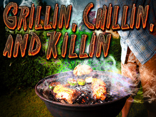 Grillin' Chillin' Killin' mystery party game
