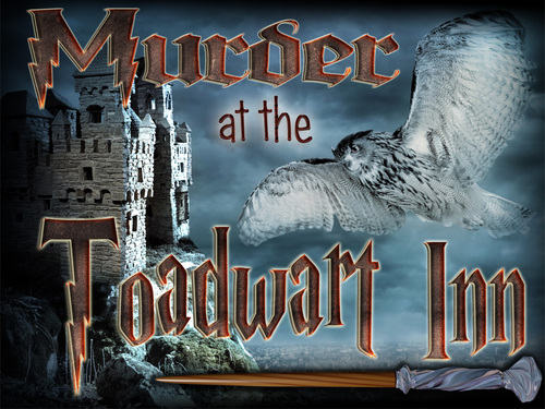 Murder at the Toadwart Inn mystery party game
