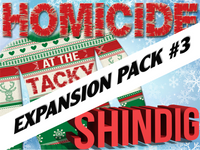 Expansion pack #3 for the Tacky Sweater mystery party