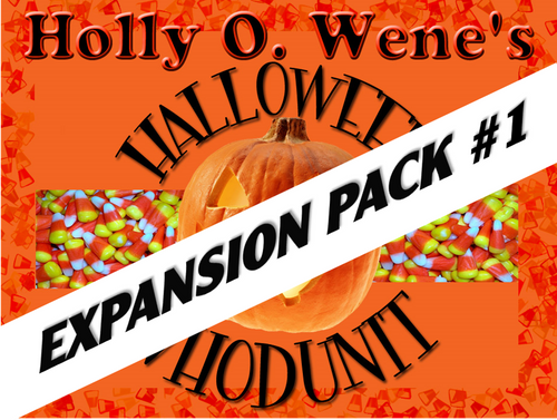 Expansion pack for a kid's Halloween mystery party