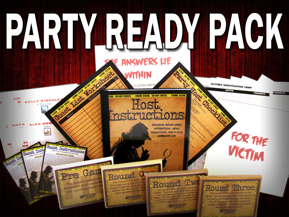 Maui mystery party boxed set
