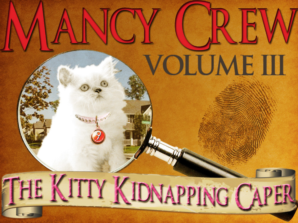 Mancy Crew Kitty Kidnapping Caper mystery party for kids