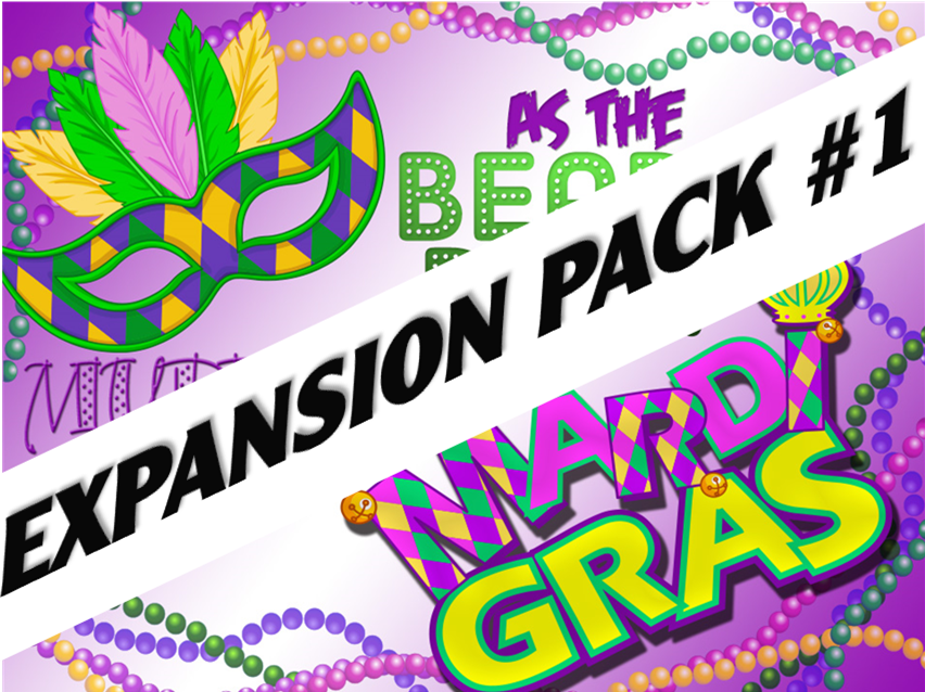 As the Beads Drop: Murder at the Mardi Gras expansion pack #1