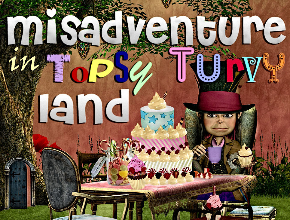 Alice in Wonderland mystery party