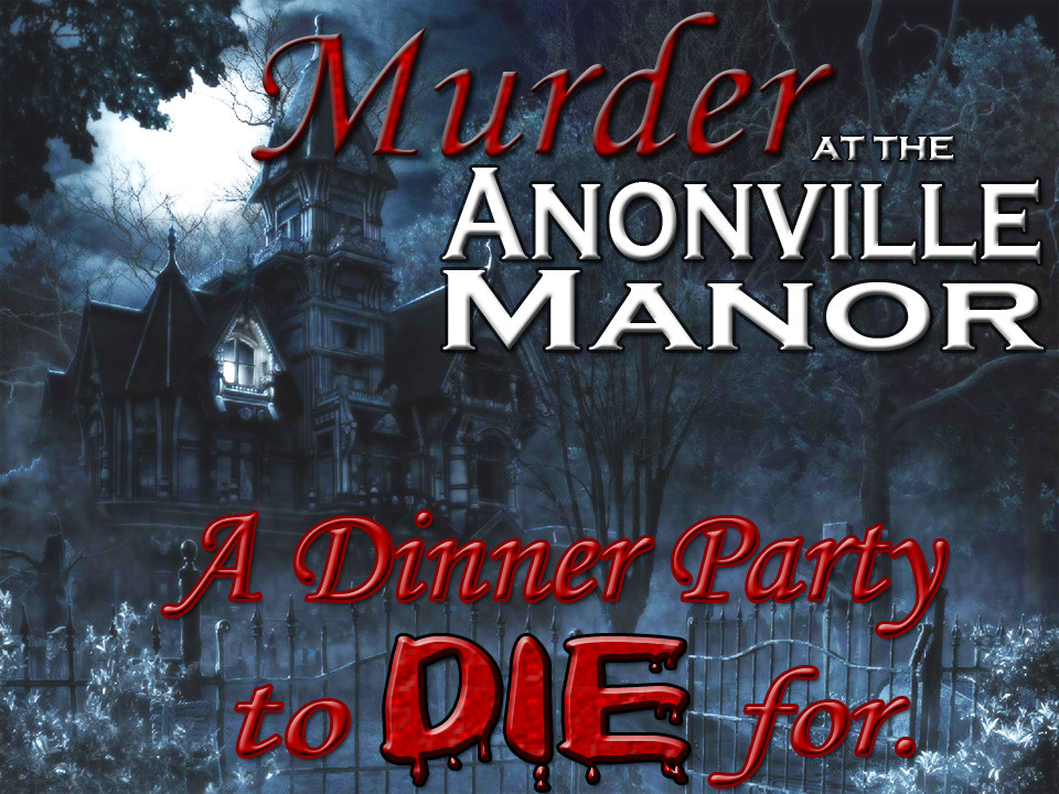 Anonville murder mystery party
