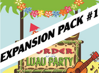 Luau mystery party expansion pack #1