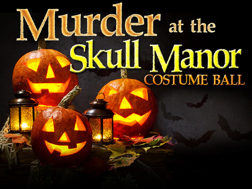 Murder at the Skull Manor mystery party