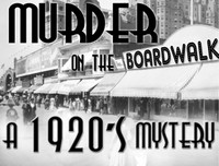Boardwalk 20's murder mystery party game