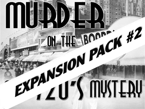 Expansion pack for Boardwalk murder mystery