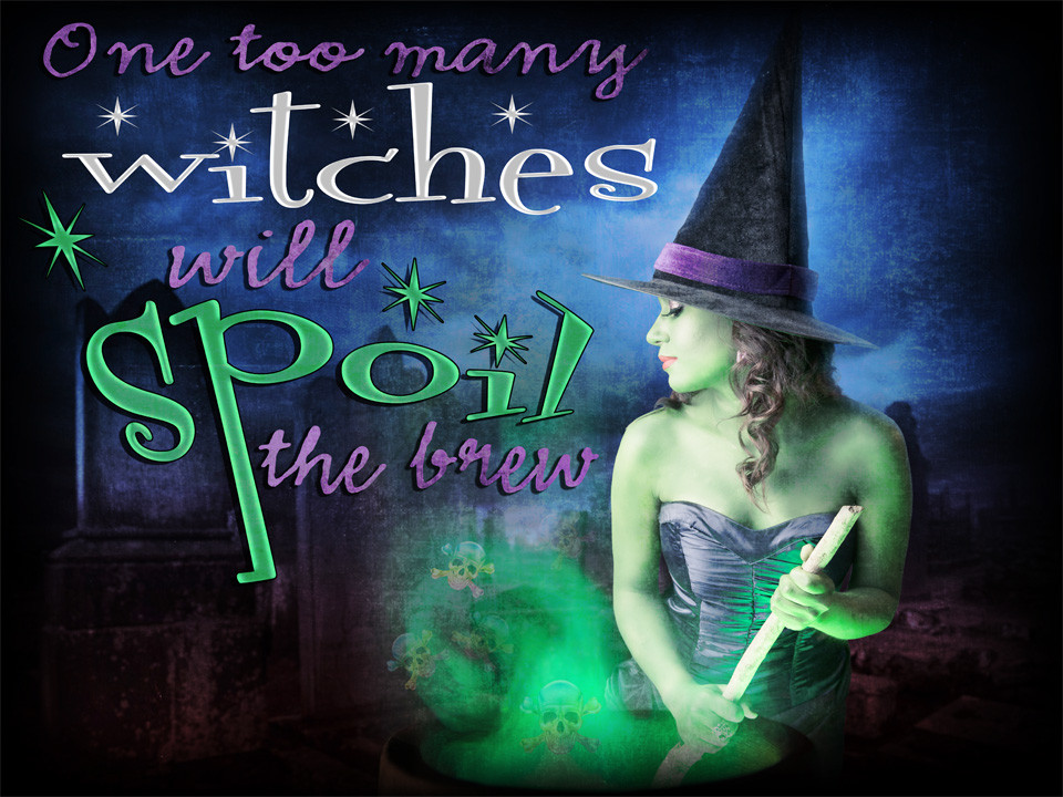 Witch murder mystery game