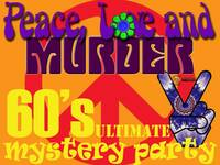 Swinging sixties murder mystery party