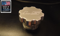 LS Engine Oil Cap CNC Machined Billet Aluminum LS1 LS2 LSX LS swapped