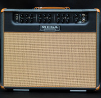 Mesa Boogie Triple Crown Combo TC50 Custom Finish - British Slate Bronco, Black Carbon Fibre FP & Tan Jute Grill