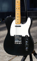 FENDER 1976 TELECASTER BLACK IN OHSC Guitar World AUSTRALIA PH 07 55962588