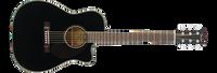 Fender CC-60SCE, Concert , Black