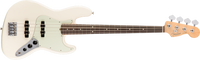 Fender American Pro Jazz Bass, Rosewood Fingerboard, Olympic White