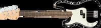 Fender American Pro Precision Bass Left-Hand, Rosewood Fingerboard, Black
