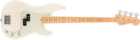 Fender American Pro Precision Bass, Maple Fingerboard, Olympic White
