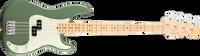 Fender American Pro Precision Bass, Maple Fingerboard, Antique Olive