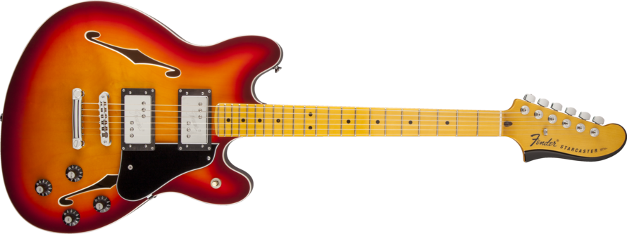 Fender Starcaster Guitar Shop Online At Guitar World Australia