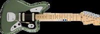 Fender American Pro Jaguar, Maple Fingerboard, Antique Olive