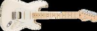 Fender American Pro Stratocaster HSS Shawbucker, Maple Fingerboard, Olympic White