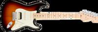 Fender American Pro Stratocaster HSS Shawbucker, Maple Fingerboard, 3-Color Sunburst