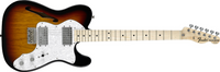Fender Classic Series 72 Telecaster Thinline, Maple Fingerboard, 3-Color Sunburst