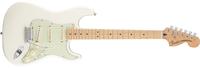 Fender Deluxe Roadhouse Stratocaster, Maple Fingerboard, Olympic White