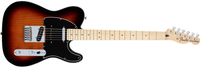 Fender Deluxe Nashville Telecaster, Maple Fingerboard, 2-Color Sunburst