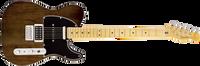 Fender Modern Player Telecaster Plus, Maple Fingerboard, Charcoal Transparent