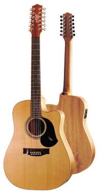 MATON ECW80C/12 12 STRING ACOUSTIC ELECTRIC GUITAR Guitar World AUSTRALIA