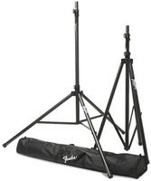Fender ST-275 Tripod Speaker Stands - 2 speaker stands w/carrying bag