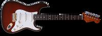 Fender Custom Deluxe Top Bound Slab Body Strat