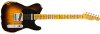 Fender 1951 Heavy Relic Telecaster, Maple Fingerboard, Faded 2-Color Sunburst