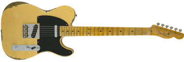 Fender 1951 Heavy Relic Telecaster, Maple Fingerboard, Faded Nocaster Blonde
