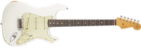 Fender 1961 Relic Stratocaster, Rosewood Fingerboard, Olympic White