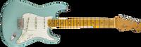 Fender Journeyman Relic Postmodern Stratocaster, Maple Fingerboard, Daphne Blue