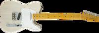 Fender Journeyman Relic Postmodern Telecaster, Maple Fingerboard, Aged White Blonde