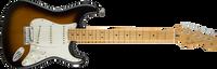 Fender American Custom Stratocaster, Maple Fingerboard, 2-Color Sunburst
