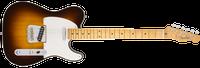 Fender American Custom Telecaster, Maple Fingerboard, Chocolate 2-Color Sunburst