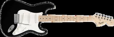 FENDER SQUIER Affinity Stratocaster, Maple Fingerboard, Black