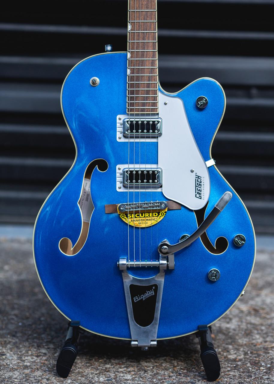 gretsch g5420t electromatic hollowbody fairlane blue on sale at guitar world australia. Black Bedroom Furniture Sets. Home Design Ideas