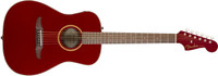 Fender Malibu Classic, Hot Rod Red Metallic w/bag