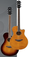 Yamaha APX600FM Sunburst Flamed Maple
