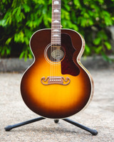 Gibson J-200 Studio Acoustic Guitar Walnut Burst (711106108568)