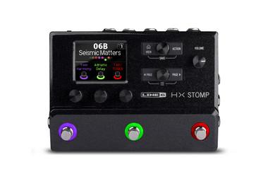 Line 6 HX Stomp Guitar Multi-effects Floor Processor