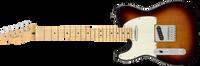 Fender Player Telecaster Left-Handed Maple Fingerboard, 3-Color Sunburst