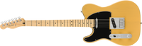 Fender Player Telecaster Left-Handed Maple Fingerboard, Butterscotch Blonde