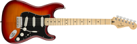 Fender Player Stratocaster Plus Top Plus Top, Maple Fingerboard, Aged Cherry Burst